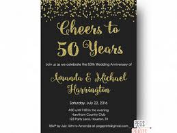 50th wedding anniversary wording for invitation archives wording