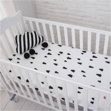Crib Mattress Fitted Sheet Muslinlife Cotton Baby Fitted Sheet Crib Mattress