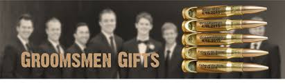 Engraved Groomsmen Gifts Personalized Groomsmen Gifts By Color Bullets2bandages