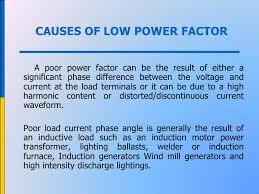 power factor for lighting load power management in bms