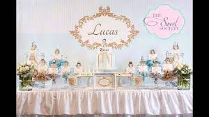 Precious Moments Baby Shower Decorations Baptism Party Themes Decorations At Home Ideas Youtube