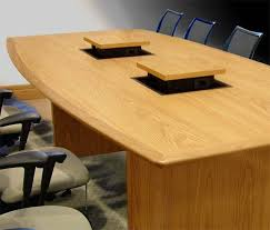 conference table pop up piatto conference table with pop up computer cable connection boxes