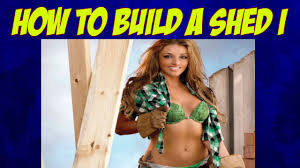 how to build a wood shed shed building plans custom sheds youtube