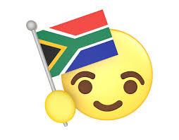 africa map emoji republic of south africa national flag free emoji emoticons