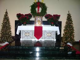 the small town catholic christmas decorations at st paul u0027s