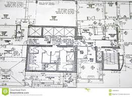 floor plan drawing stock photo image 14583650