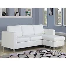 apartment size sofas and loveseats amazon com 2 pc vogue collection beige microfiber reversible