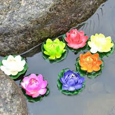 flowers decoration in water decorative flowers