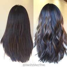 ashy brown balayage highlights on asian hair yelp