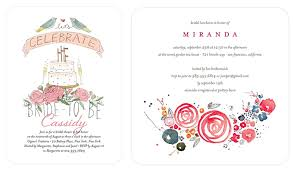 bridal luncheon invite bridal shower invitations from wedding paper divas grace