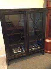 Mission Style Bookcase Arts U0026 Crafts Mission Style Bookcases Antique Furniture Ebay