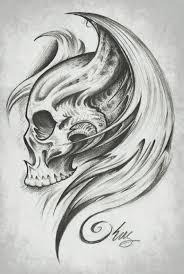 skull wings by j king 21 deviantart com triball skull