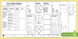 find and name a quarter new 2014 curriculum maths page 1