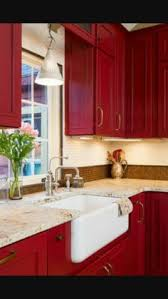 red cabinets in kitchen reloved rubbish primer red chalk paint kitchen cabinets reds