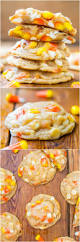candy corn and white chocolate softbatch cookies averie cooks