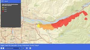 multnomah county monitors evacuations on interactive map katu