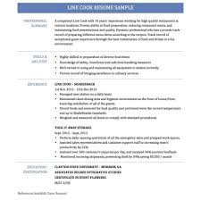 charming design line cook resume 1 prep cook and line resume with