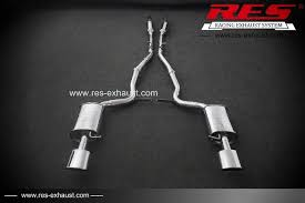 audi s4 exhaust aliexpress com buy auto part res racing for audi s4 performance