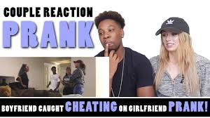 Girlfriend Cheating Meme - boyfriend caught cheating on girlfriend prank couple reaction