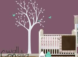 White Tree Wall Decal For Nursery 19 Wall Decals For Baby Room 25 Best Nursery Wall Decals Ideas On