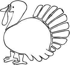 6 thanksgiving turkey coloring pages ngbasic