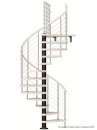 arke treppen brüstungsgeländer für spindeltreppe fontanot rex