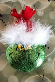 Custom Made Christmas Ball Ornaments by Best 25 Grinch Ornaments Ideas On Pinterest Grinch Christmas