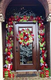 blue front door modern wreaths christmas for spring wreath modern