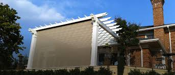 Sun Awnings For Houses Outdoors Eclipse Retractable Solar Screen Screens Awnings