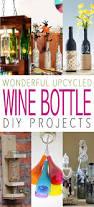 Upcycled Wine Bottles - wonderful upcycled wine bottle diy projects the cottage market