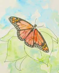 how to draw worksheets for the artist how to draw a monarch