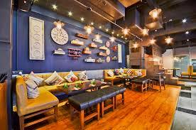 cafe interior design india quaint decor accessories restaurants in new delhi india