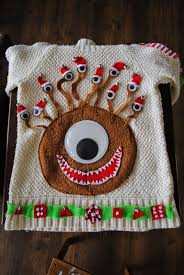 en world rpg news u0026 reviews it u0027s a beholder christmas sweater