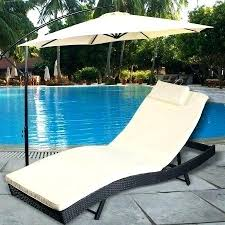 round outdoor lounge chair walmart chaise cushion pool patio