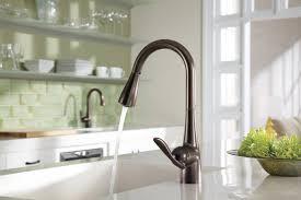 single handle high arc kitchen faucet kitchen faucet in bronze new moen 7594orb arbor single handle high