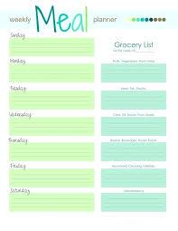 printable blank meal planner printable blank meal planner sheet printable best ideas on monthly