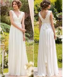 2017 cheap chiffon boho wedding dresses plus size modren with cap