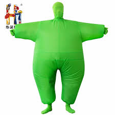 Blow Halloween Costumes Factory Sell Inflatable Chub Costume Inflatable Fat Costume