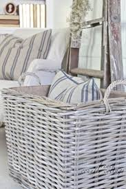 best 25 wicker storage baskets ideas on pinterest diy dressing