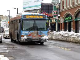 Boston Mbta Bus Map by Miles On The Mbta 60 Chestnut Hill Kenmore Station Via
