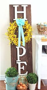 Easter Yard Decoration Ideas by 9 Ways To Add Easter Decor To Your Home Birkley Lane Interiors