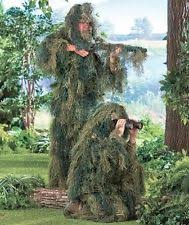 Ghillie Suit Halloween Costume Youth Ghillie Suit Ebay