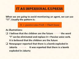 verb pattern prevent wellcome to english 2 class 11 th meeting it as impersonal express