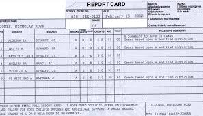 high school student report card template report card template fieldstation co