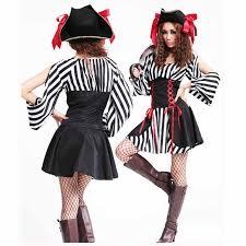 Black White Striped Halloween Costume Cheap Halloween Costumes Themes Aliexpress