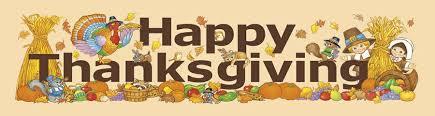 happy thanksgiving banner metal creditcard