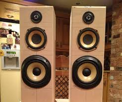 airplay hifi tower speakers subwoofer 8 steps with pictures