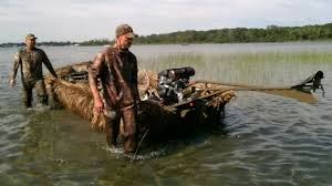 Duck Boat Blind Pictures Duck U0026 Goose Hunting Boat Blind Youtube