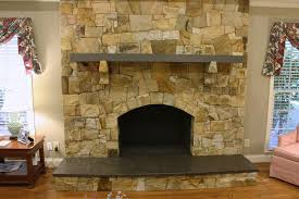 sandstone fireplace stone fireplace facelift before and after masonry contractor talk