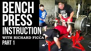 improve your bench press fast bench press training part 1